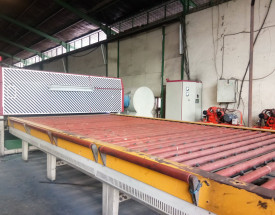 Our Facility tempered machine mesin tempered